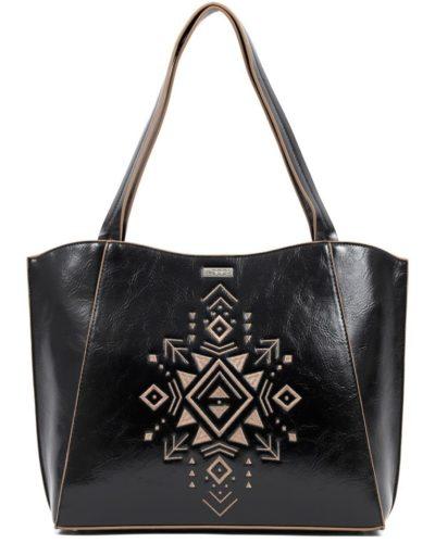 τσάντα-ώμου-doca-17076-μαύρη