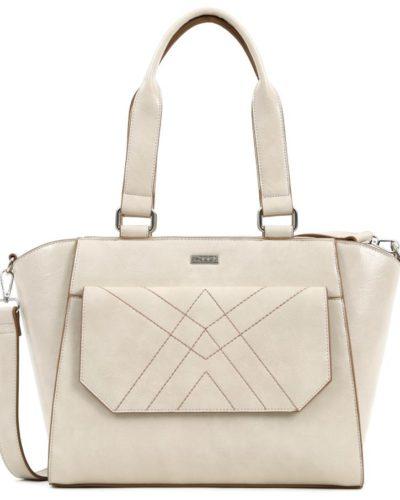 τσάντα-ώμου-doca-17105-λευκή