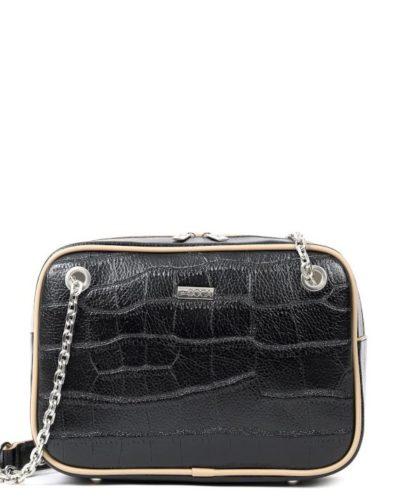 τσάντα-ώμου-doca-17329-μαύρη