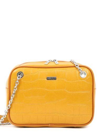 τσάντα-ώμου-doca-17331-κίτρινη