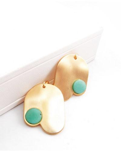 κρεμαστά-σκουλαρίκια-σε-χρυσή-απόχρω