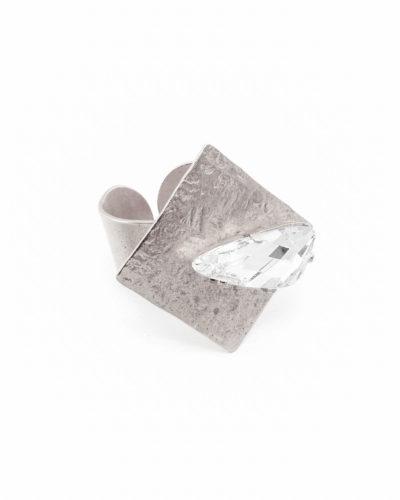 ασημί-σφυρήλατο-δαχτυλίδι-ρόμβος-με-swarovski